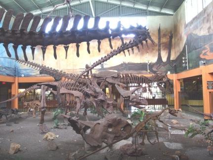 Dinosaurs in San Jose Costa Rica
