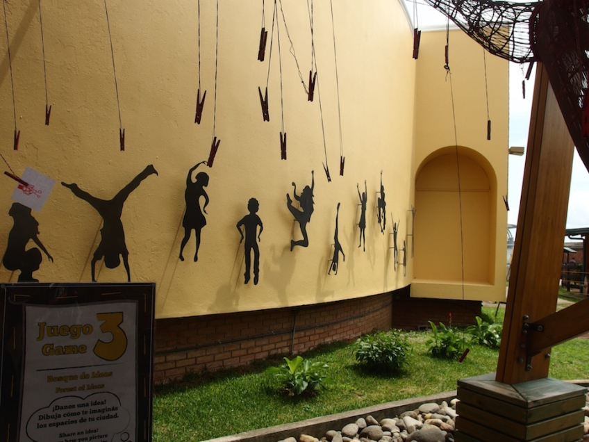 great wall at childrens museum in san jose costa rica