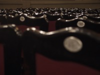 Antique seats at national theater in san jose costa rica