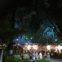San Ramon Festival and Church Lights