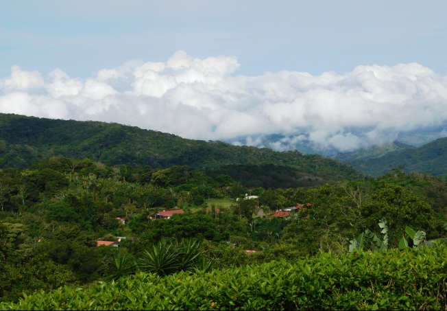 Mountain VIews in Costa Rica