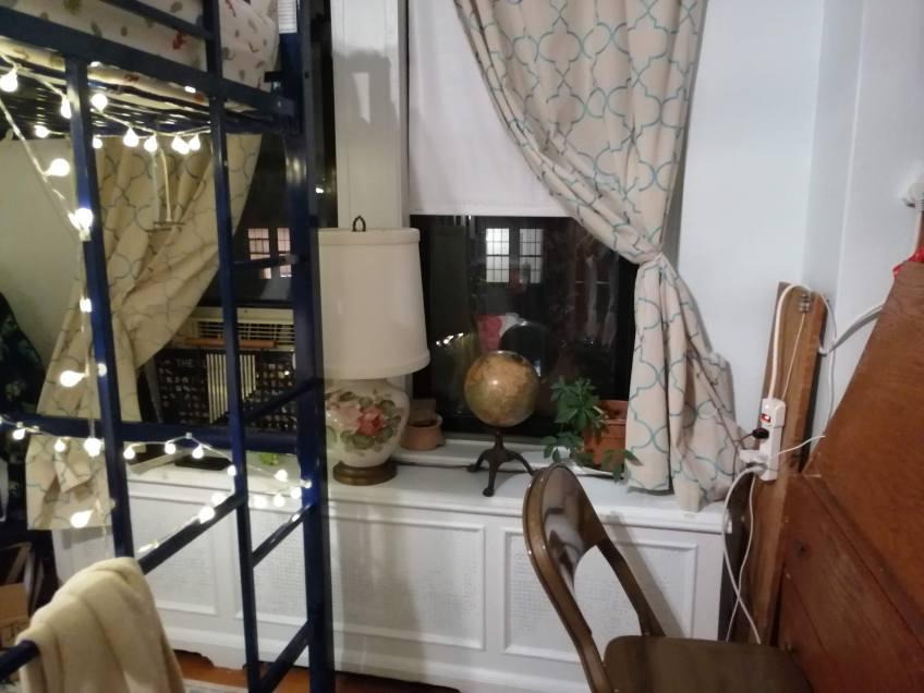 My office/bedroom/playroom NYC